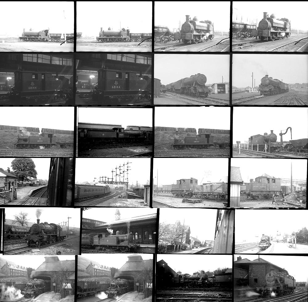 Approximately 100 35mm Negatives. Taken In 1952