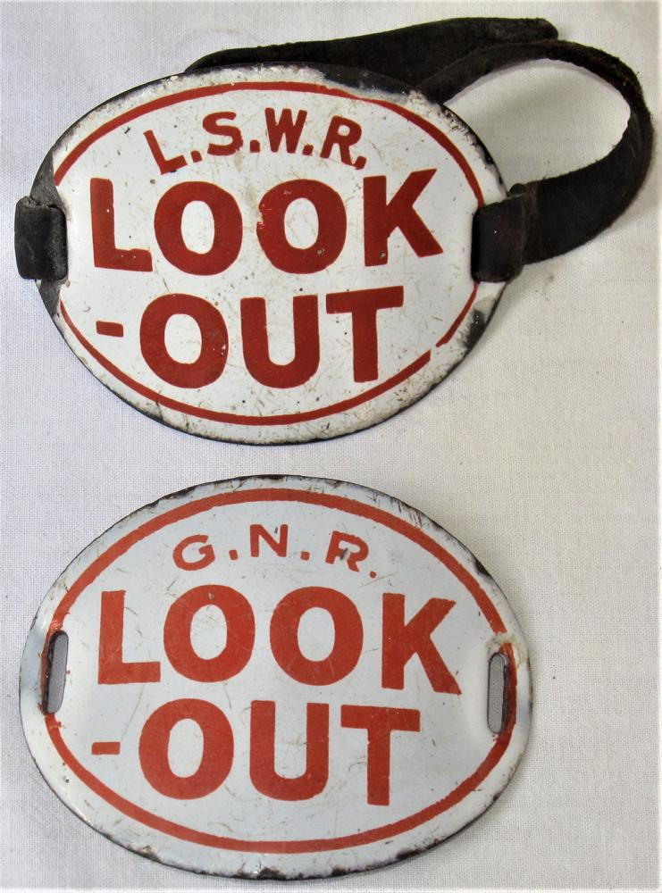2 X Pre Grouping Arm Bands. L.S.W.R LOOK OUT And