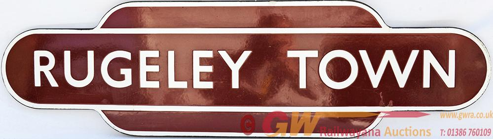 Totem, BR(M) RUGELEY TOWN, F/F. Ex Midland Railway