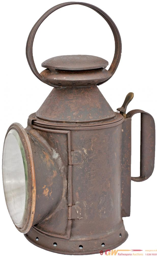 LNWR 3 Aspect Handlamp Faintly Stamped In The