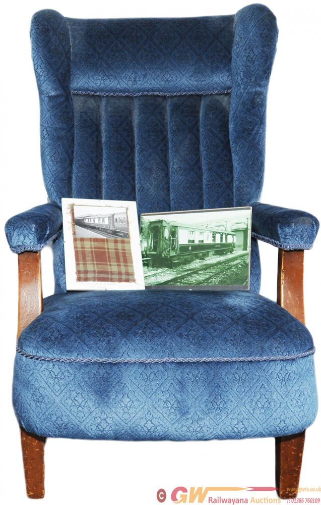 Pullman Chair From Car 'Gwladys' Electric Stock.
