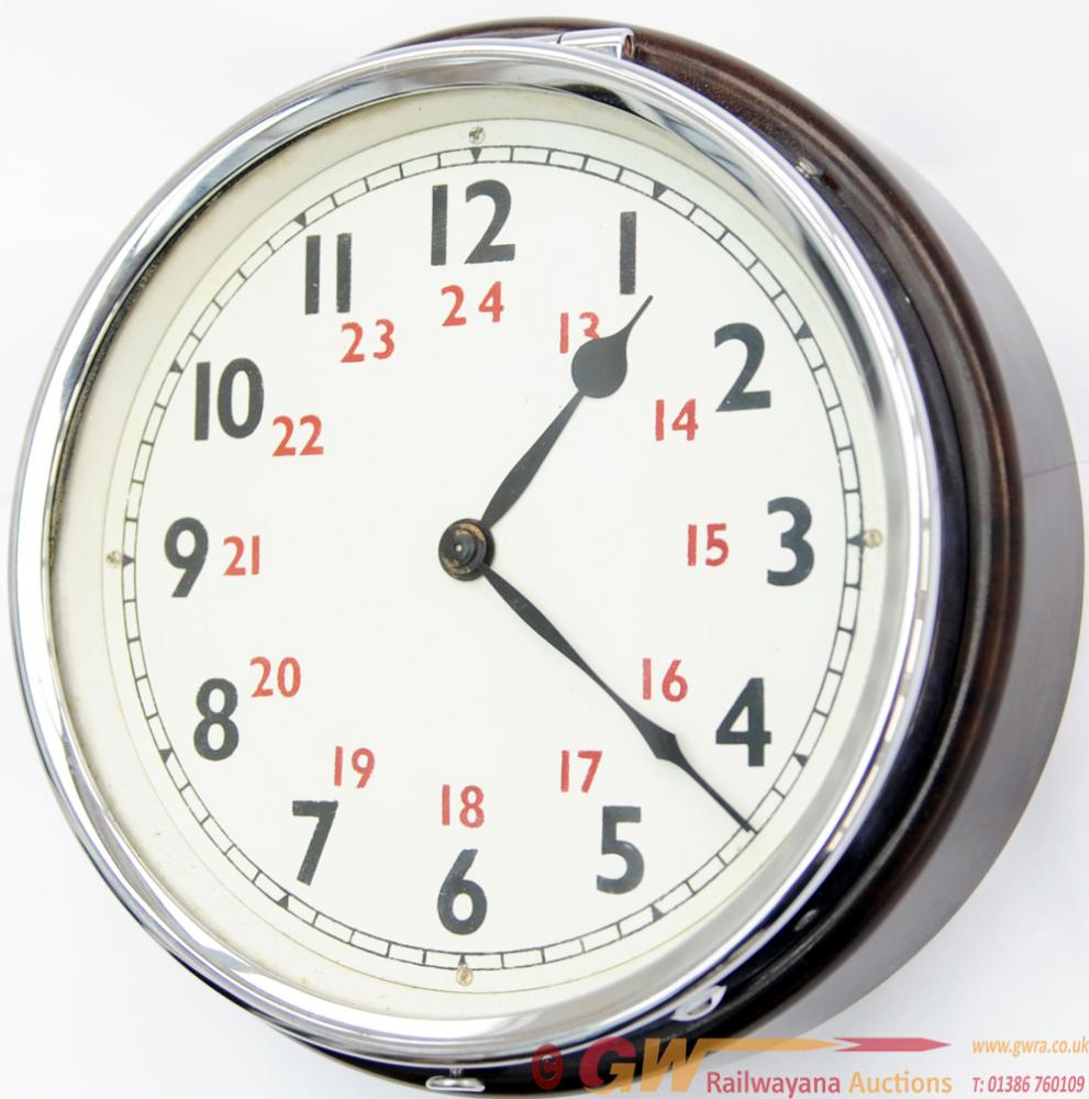 BR(W) Bakelite Cased Wall Clock By Smiths, The 5