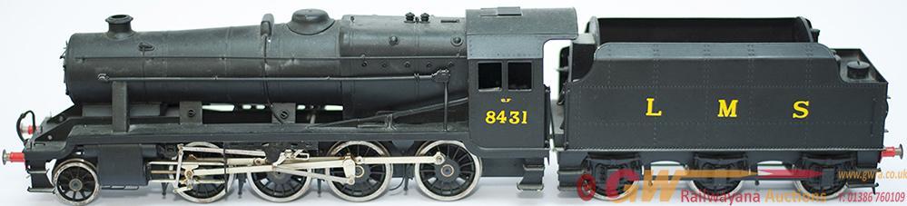 O Gauge Model Steam Locomotive LMS Stanier 8f