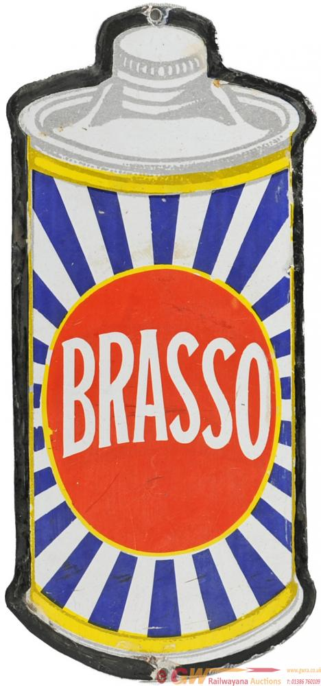 Advertising Enamel Sign 'Brasso', The Classic Sign