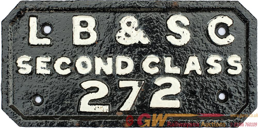 London Brighton And South Coast Railway Cast Iron