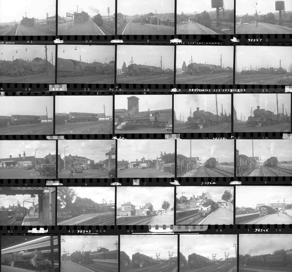 Approximately 77, 35mm Negatives. Includes