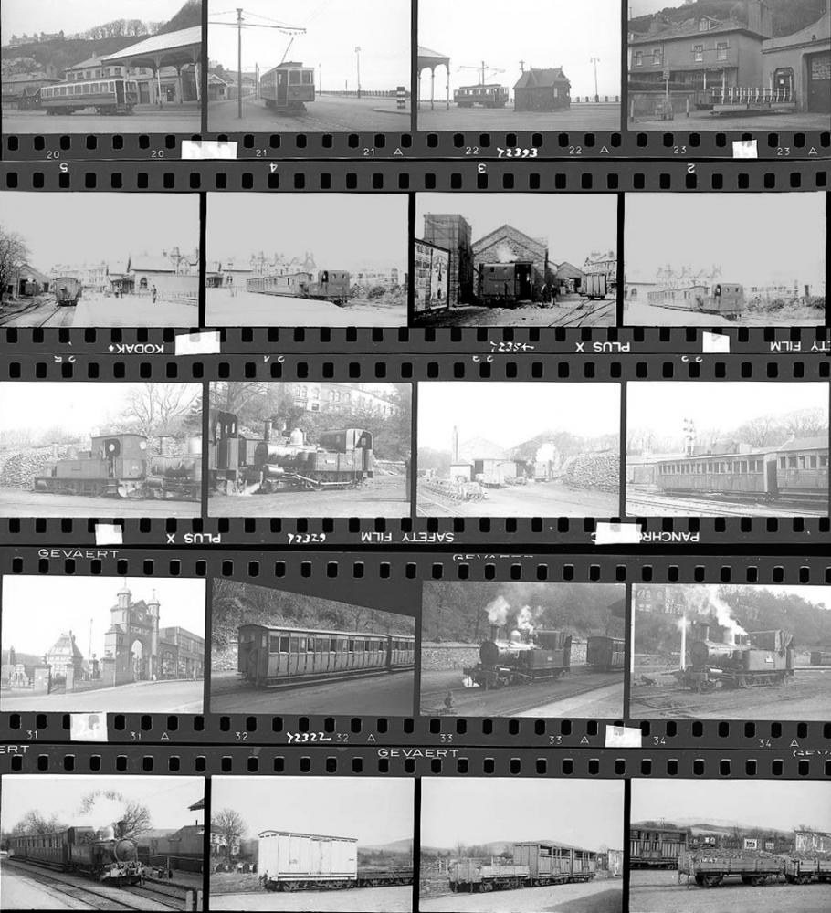 Approximately 150, 35mm Negatives. Isle Of Man To