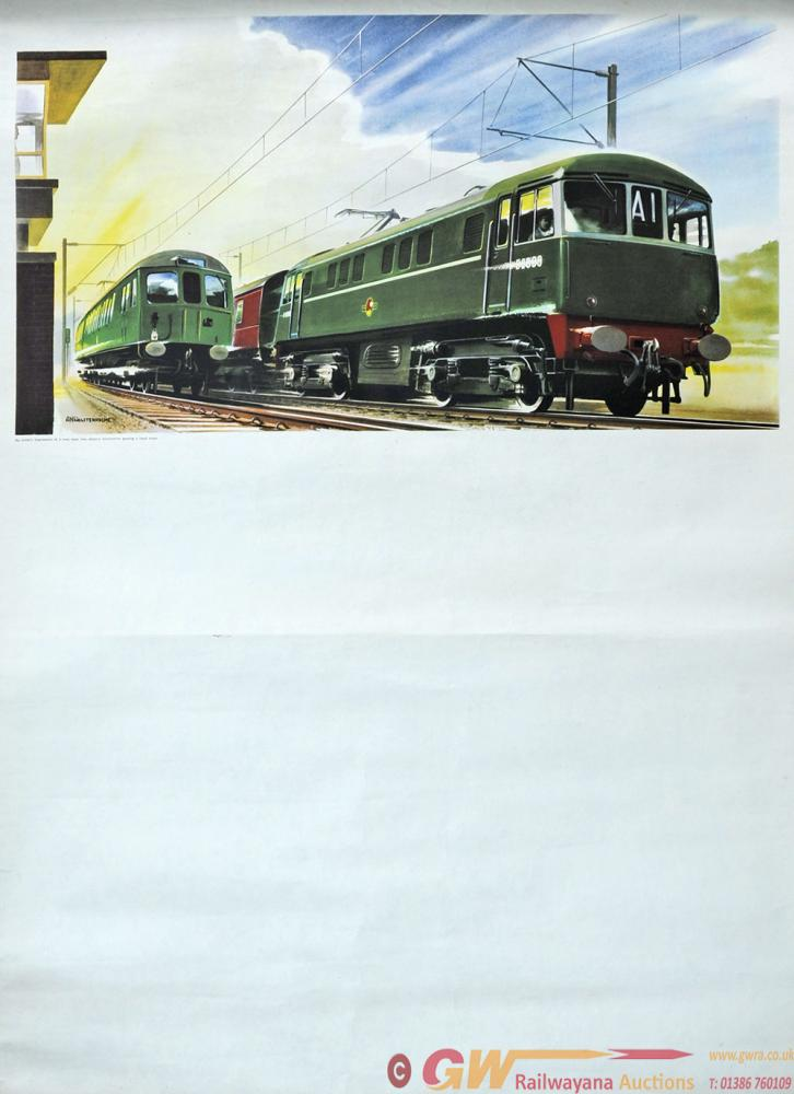 Stock Posters, Qty 2 Comprising: 'New Main Line