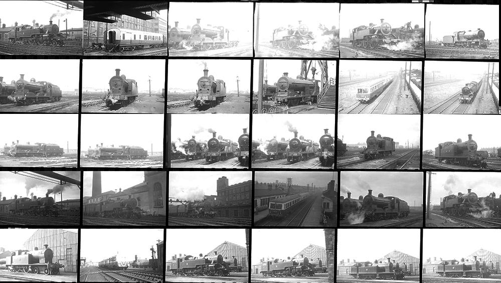 Approximately 98 35mm Negatives. Taken In 1953