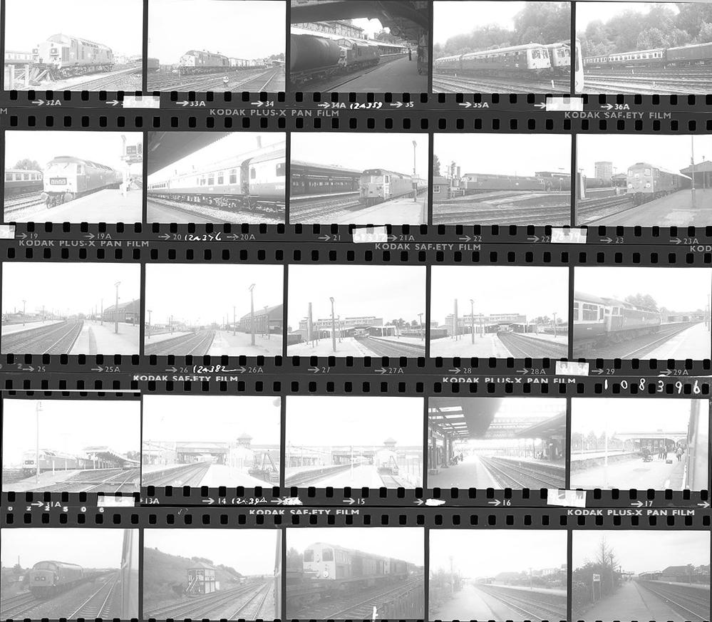 Approximately 180, 35mm Negatives. Includes