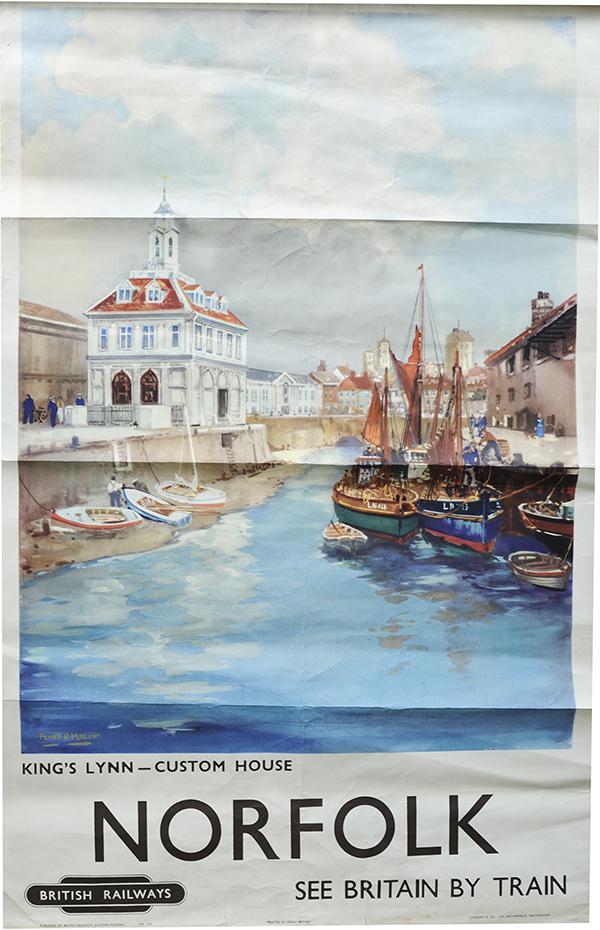 Poster 'Norfolk - Kings Lynn Custom House' By