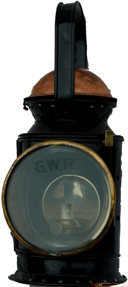 Great Western Railway 3 Aspect Coppertop Handlamp,