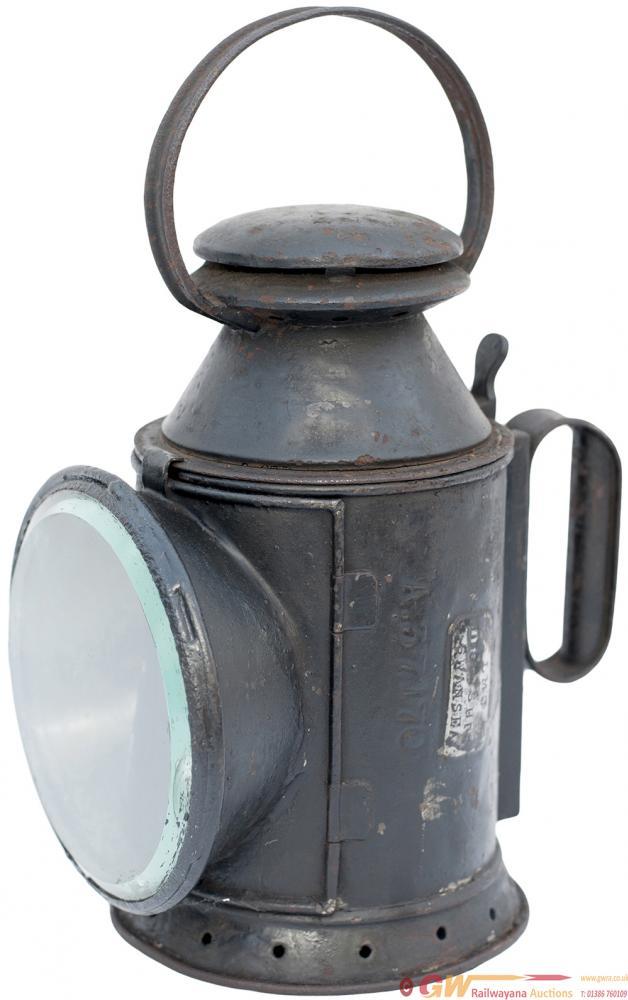 LNWR 3 Aspect Handlamp, Stamped LNWR a37170 On The