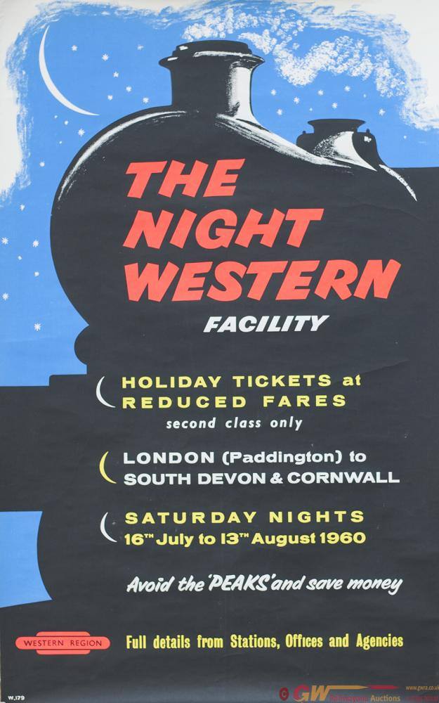 Poster BR(W) THE NIGHT WESTERN FACILITY