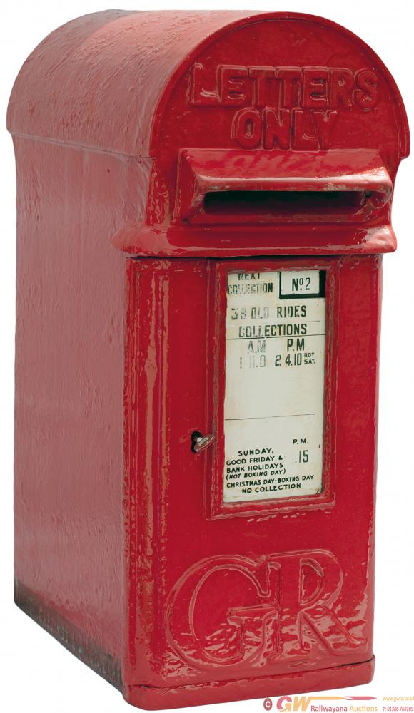 Post Office POST BOX, An Original 1930's George V