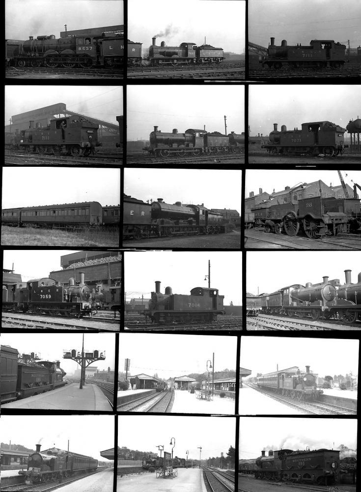 Approximately 100 35mm Negatives. Taken In 1938