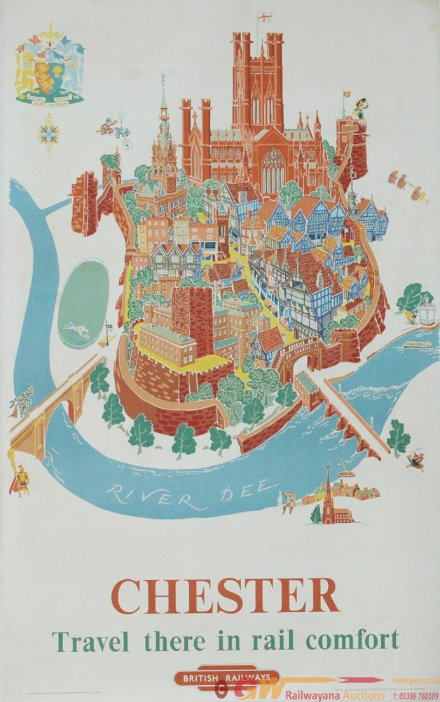 Poster BR(M) 'Chester' By Kerry Lee Circa 1953,