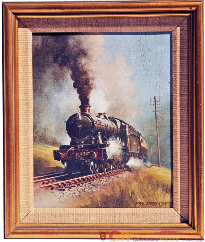Don Breckon (1935 - 2013) Original Oil On Canvas