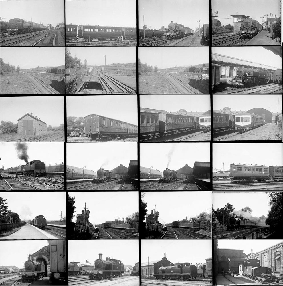 Approximately 107 35mm Negatives. Taken In 1950