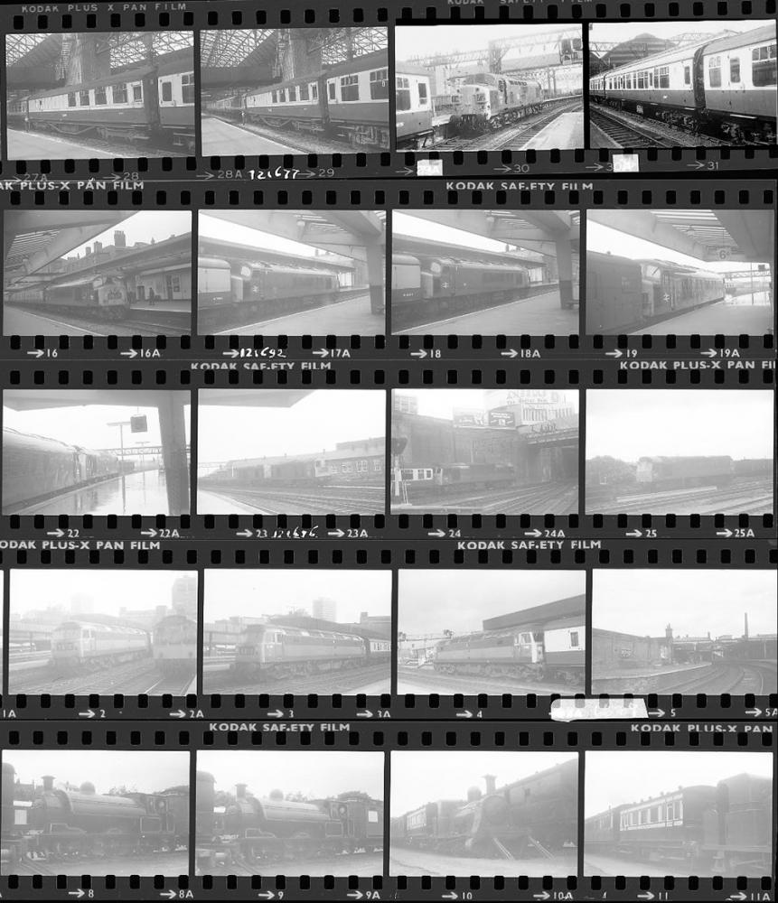 Approximately 80, 35mm Negatives. Includes Derby,