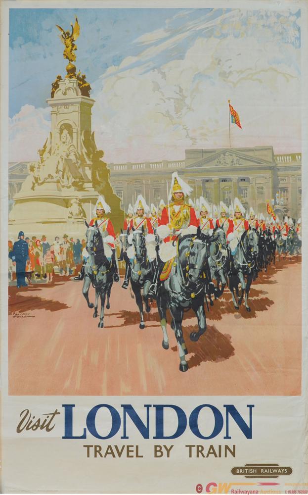 Poster British Railways 'London' Depicting Horse
