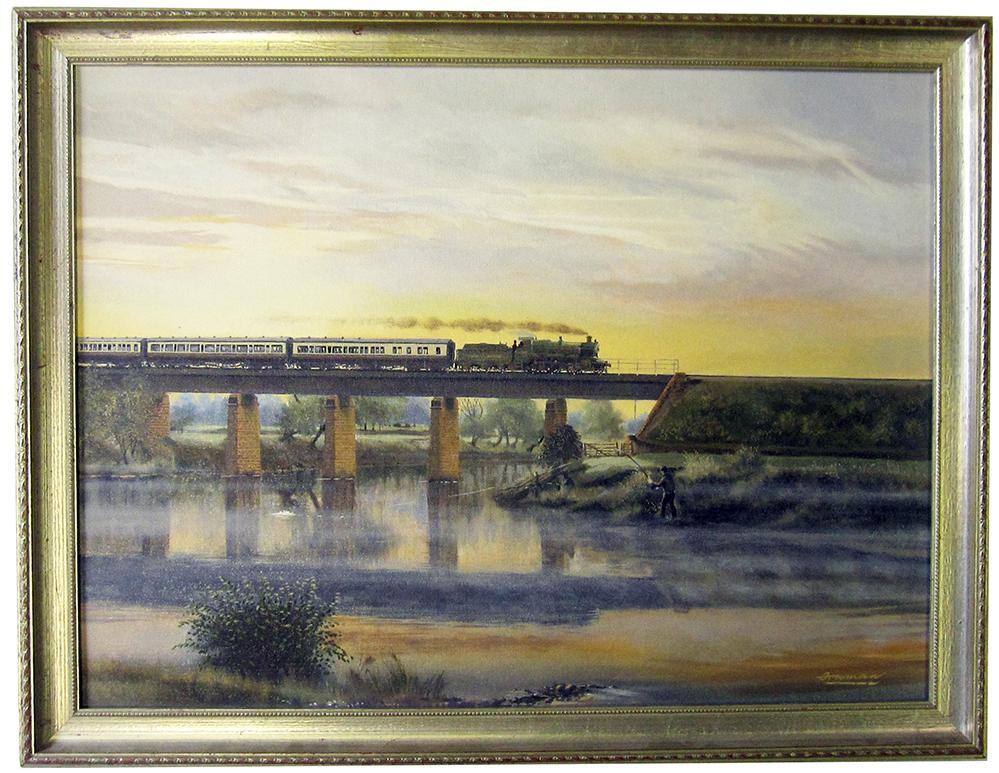 Original Oil Painting On Board By Barry Freeman Of