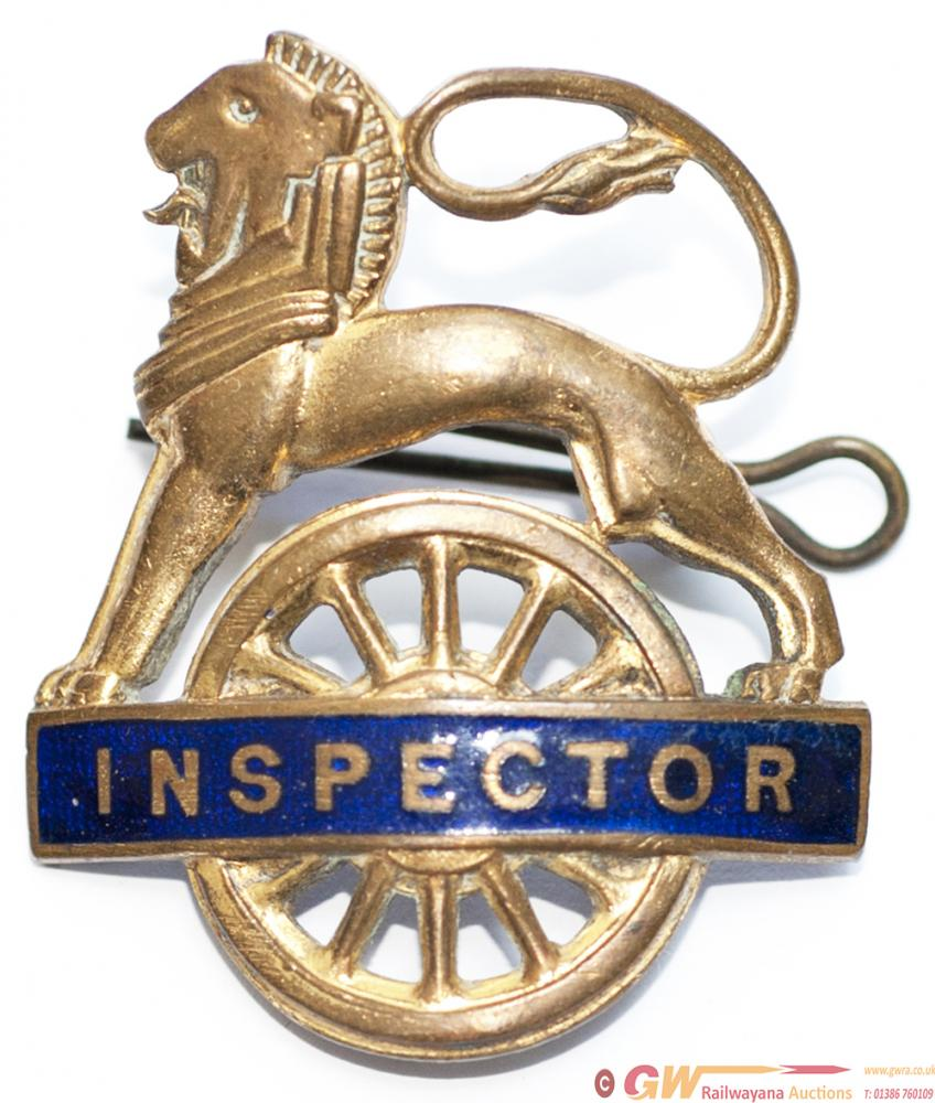 British Railways Eastern Region Gilt INSPECTOR Cap