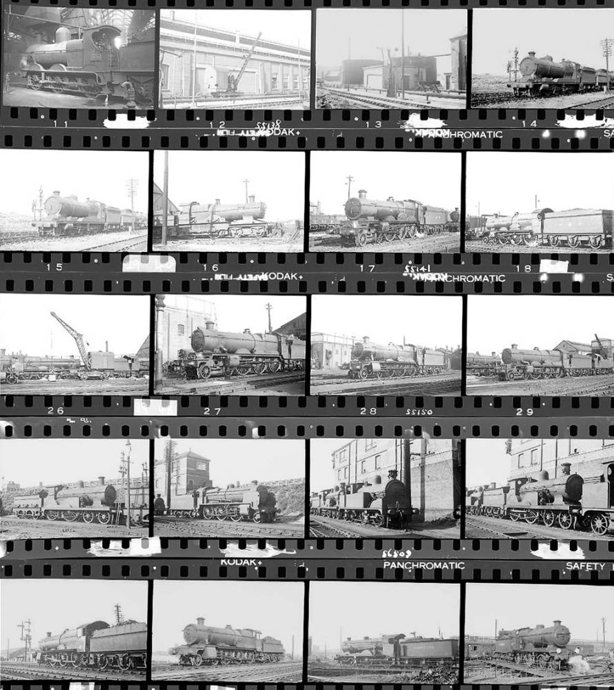 Approximately 80, 35mm Negatives. Includes Bristol