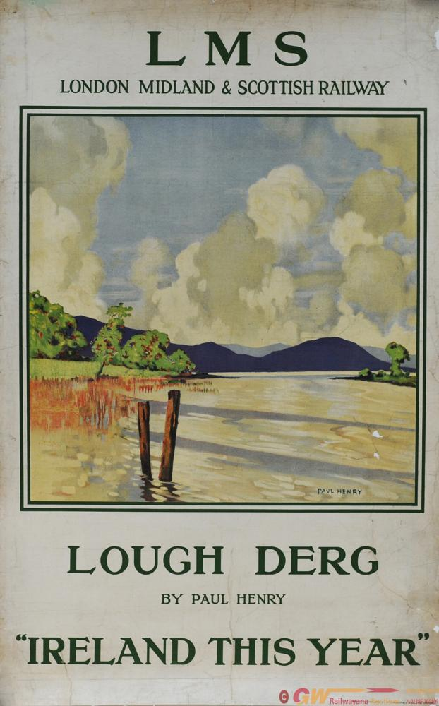 Poster LMS 'Lough Derg - Ireland This Year' By