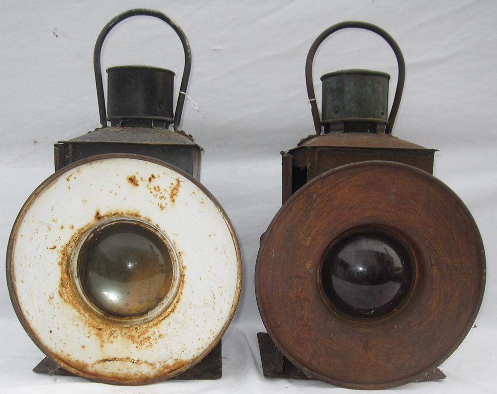 2 SR Buffer Stop Lamps Complete With Internal