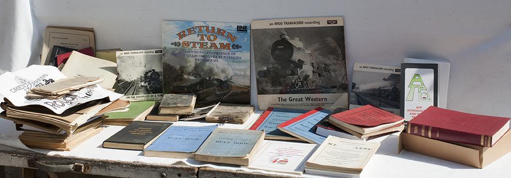 A Box Of Official Railway Books, 2 Signal Box