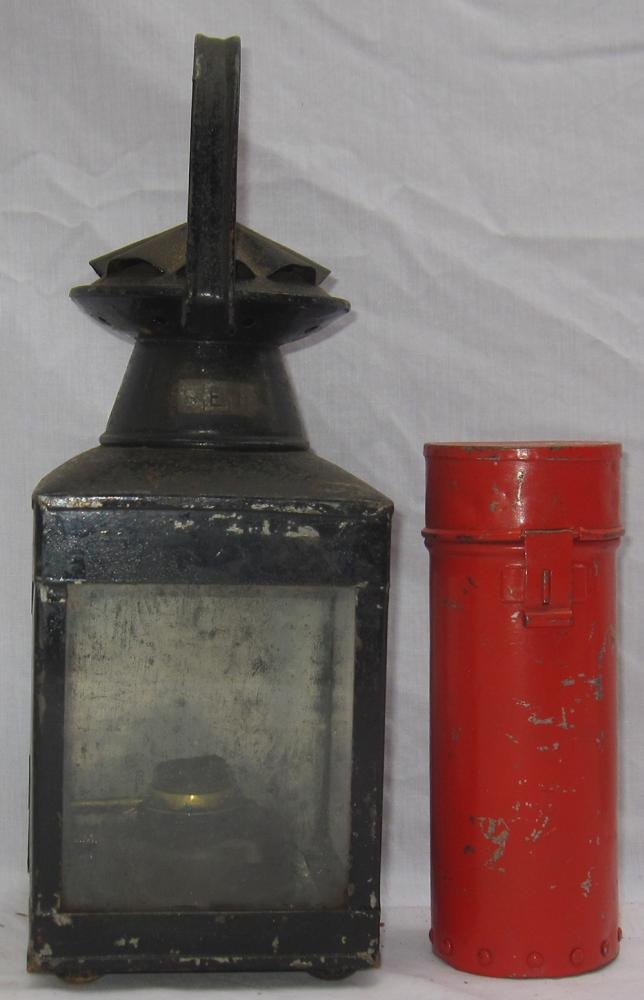 Southern Railway General Purpose Hand Lamp Stamped