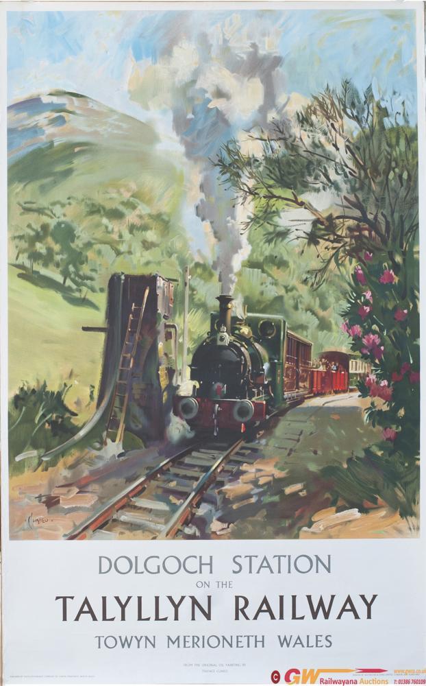 Poster DOLGOCH STATION ON THE TALYLLYN RAILWAY By