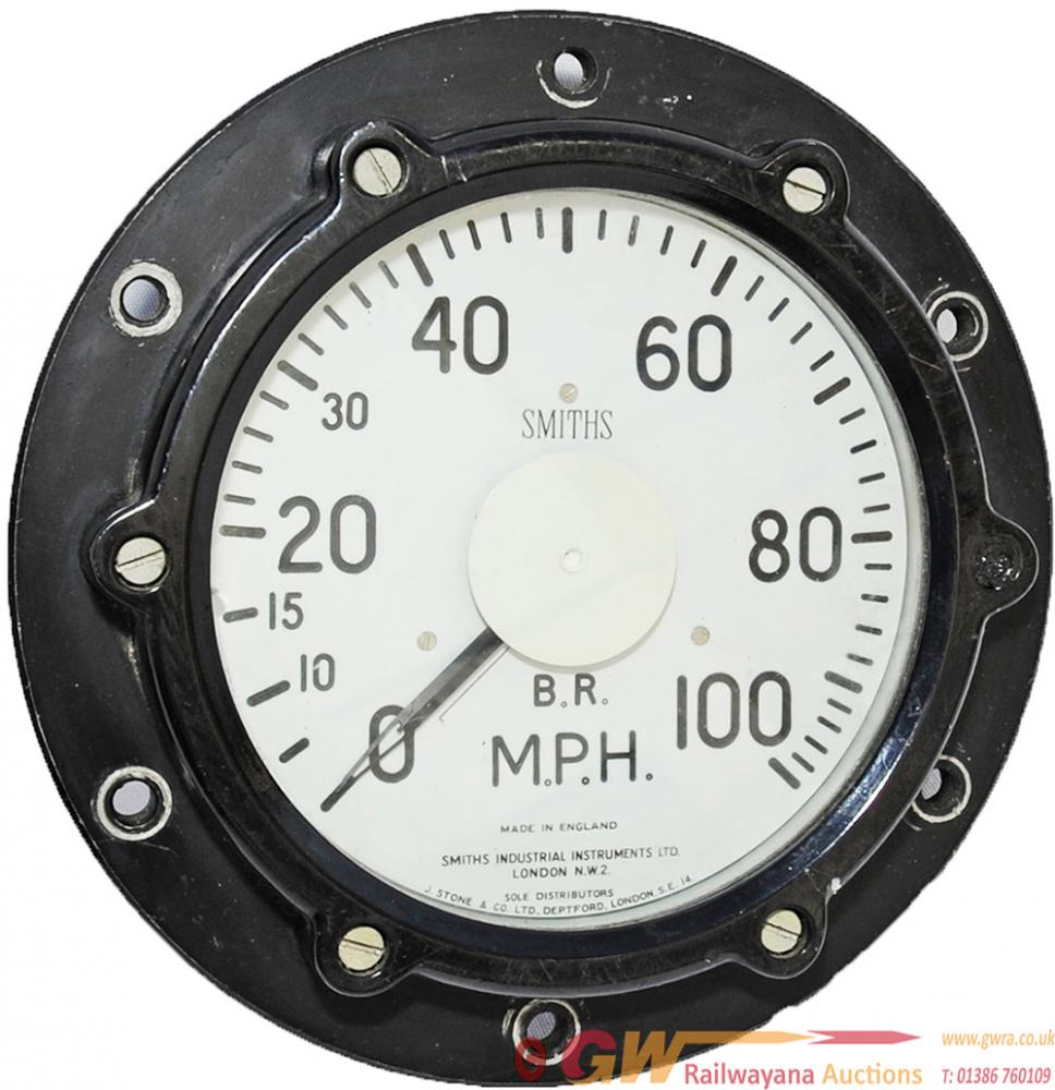 Smiths 0 - 100 Mph Speedometer As Fitted To