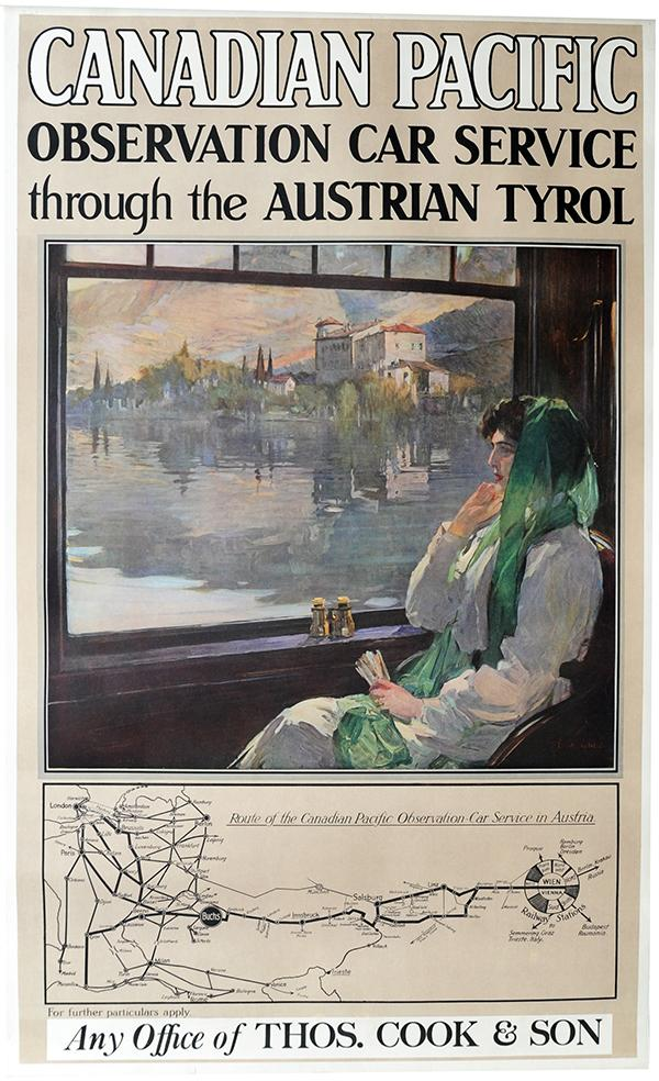 Poster, Canadian Pacific Observation Car Service