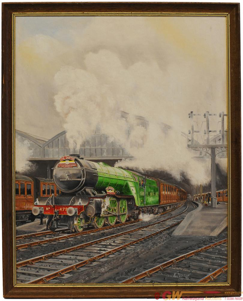 Original Oil Painting On Board Of 'The Snapper