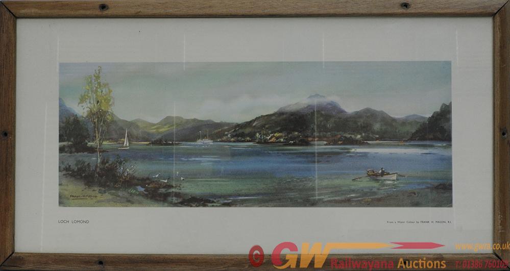 Carriage Print 'Loch Lomond' By Frank Mason From