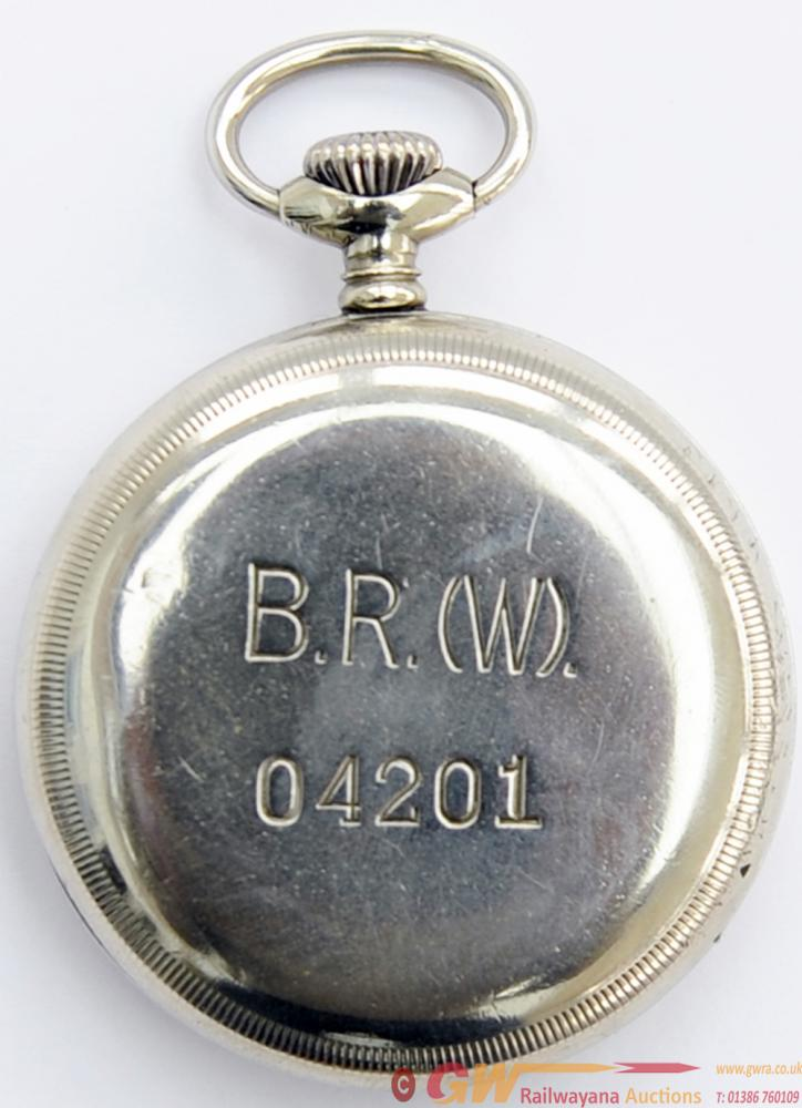 BR(W) Nickel Cased Pocket Watch By Limit Of