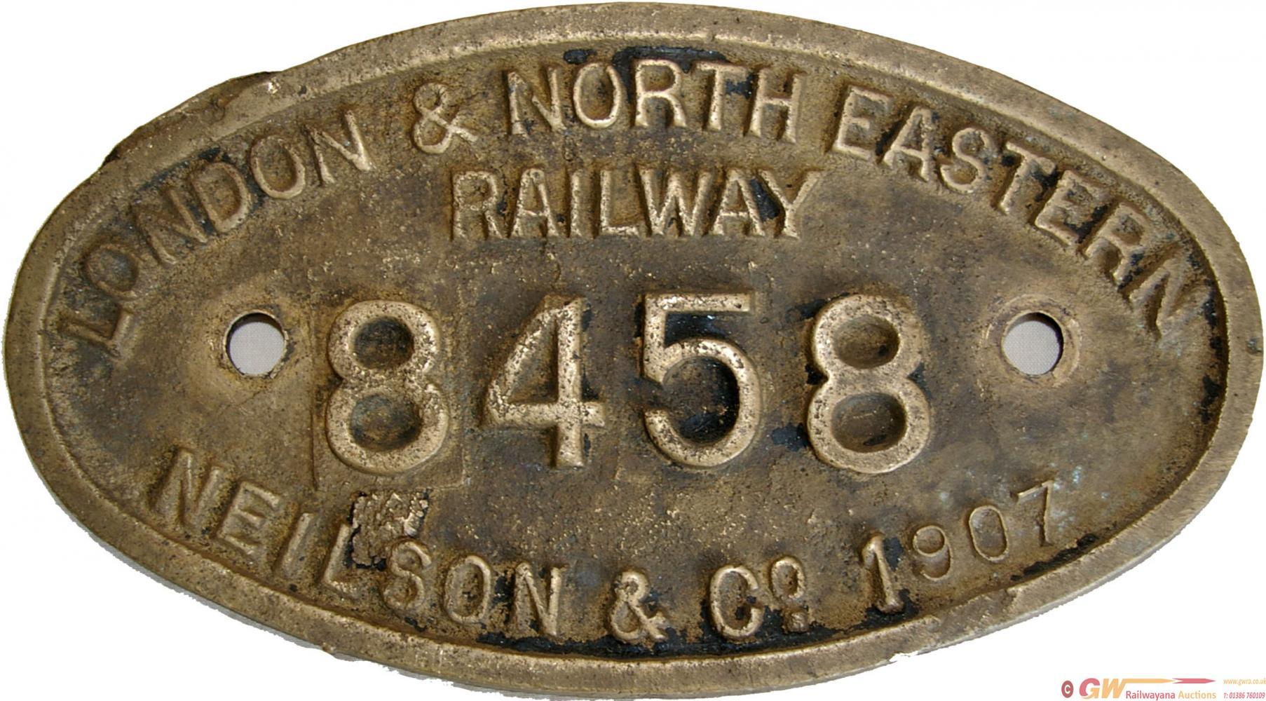 London & North Eastern Railway 9X5 Brass
