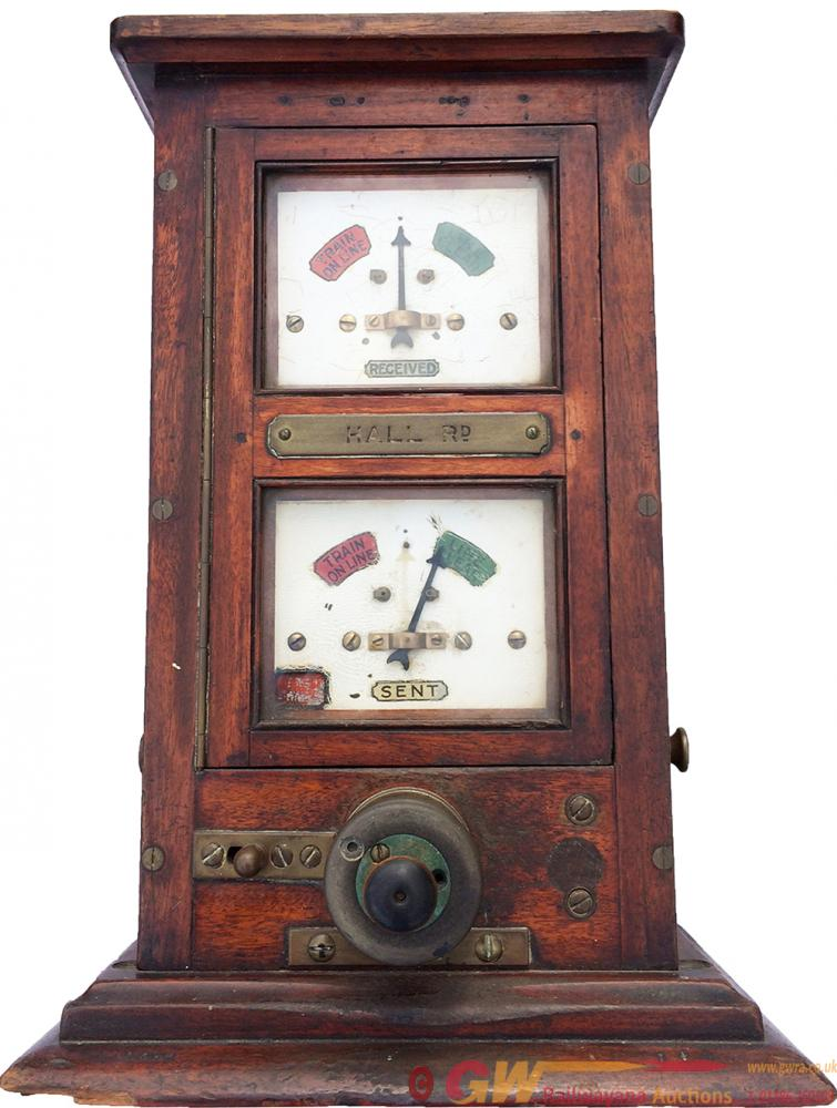 LYR Double Dial Signal Box Block Instrument