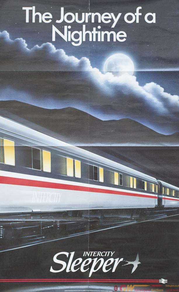 Poster BR  THE JOURNEY OF A NIGHTIME INTERCITY