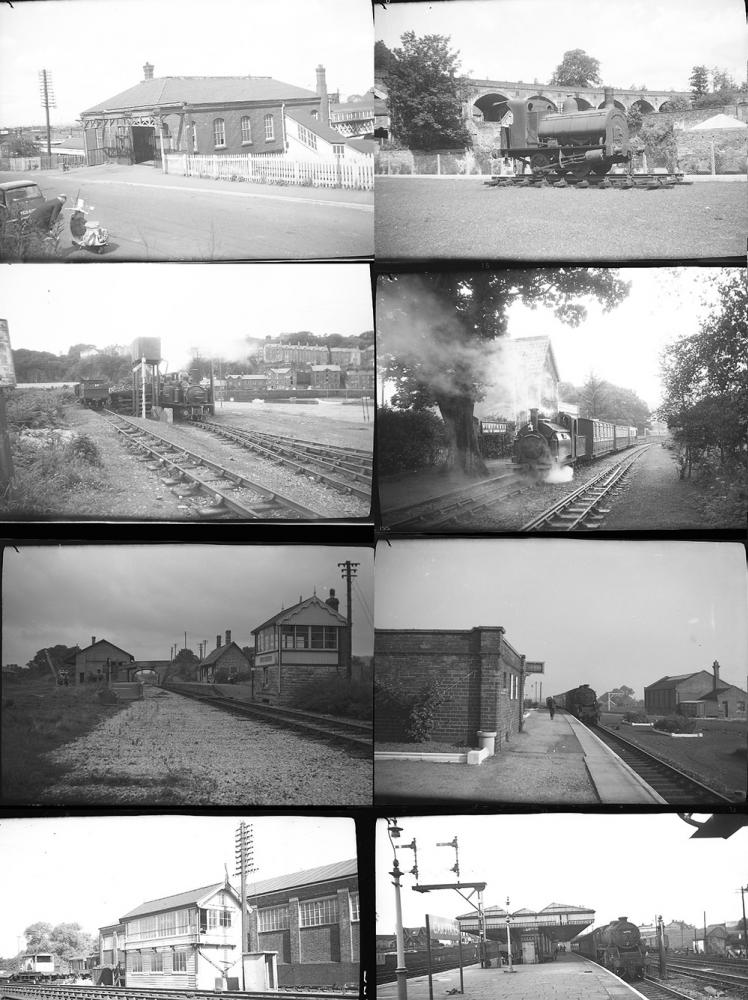 Approximately 53 Medium Format Negatives. Taken In