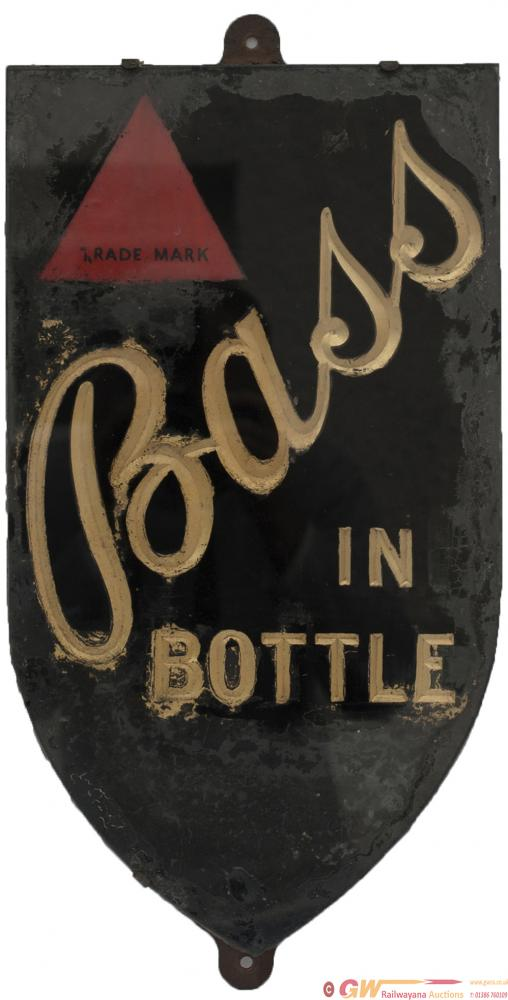 Advertising Brewery Sign BASS IN A BOTTLE, Slate