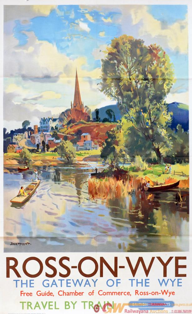 Poster BR(W) 'Ross-On-Wye - The Gateway Of The