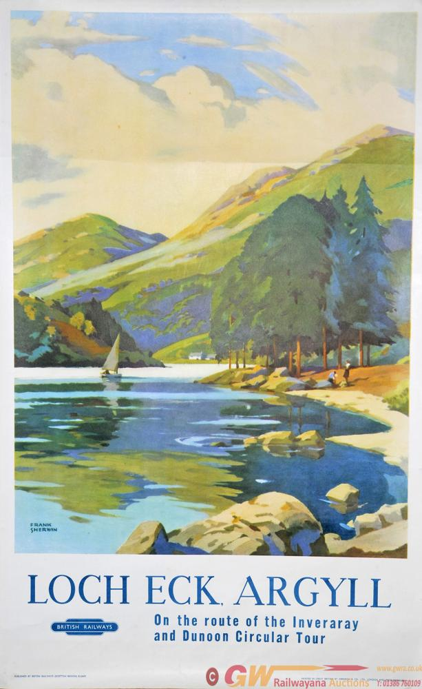 Poster BR 'Loch Eck Argyll - On The Route Of The