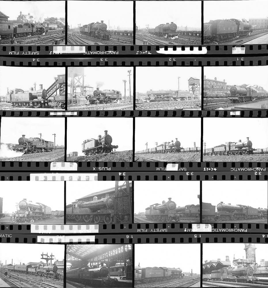 Approximately 98, 35mm Negatives. Includes