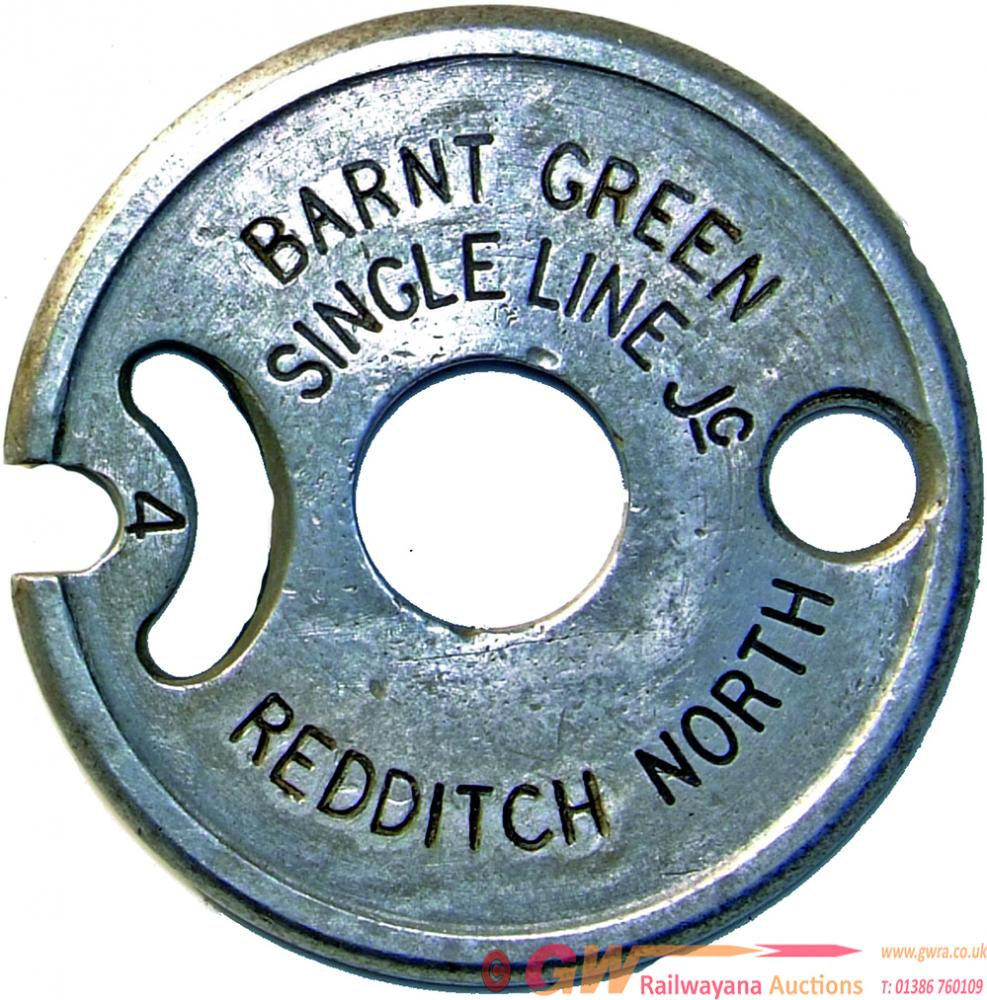 Tyers Alloy Tablet BARNT GREEN SINGLE LINE Jc -