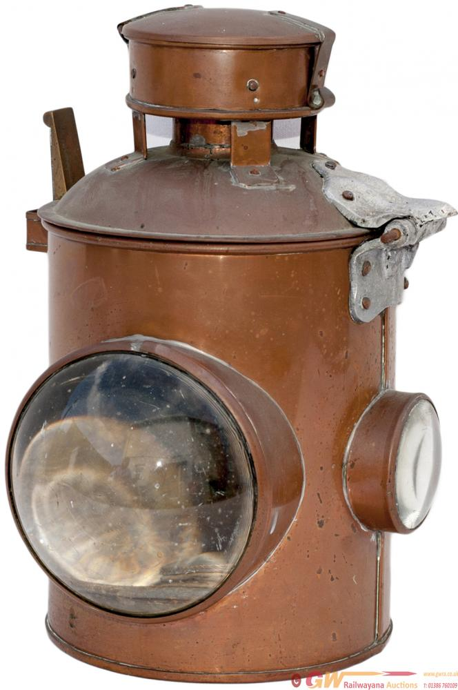 BR-W Copper Cased Signal Lamp As Used Exclusively