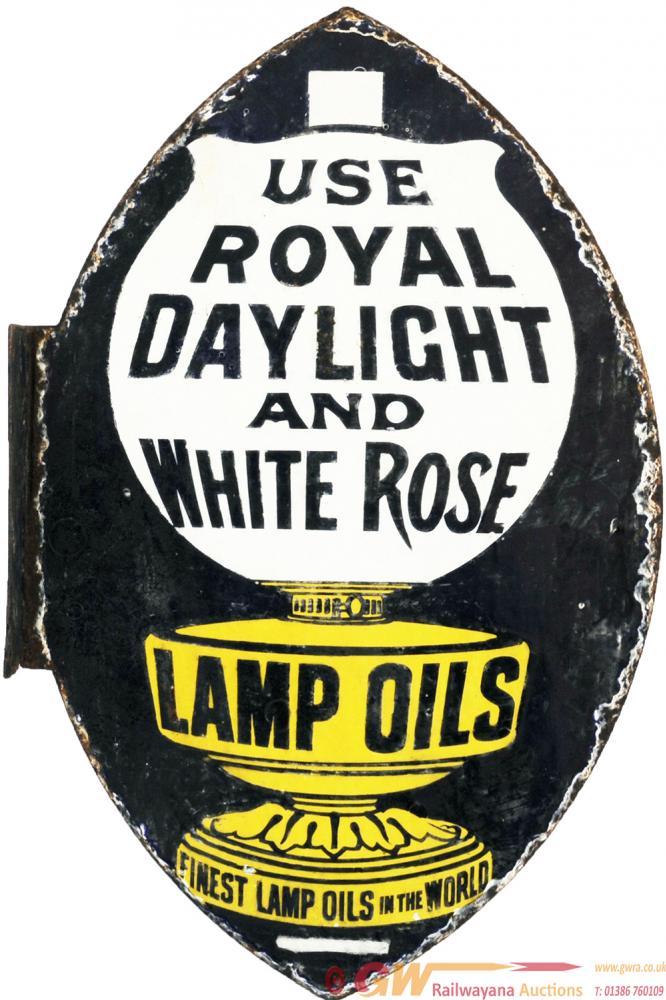Advertising Enamel USE ROYAL DAYLIGHT AND WHITE