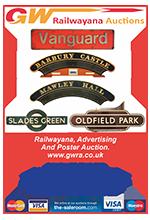 Railwayana Auction March 2016